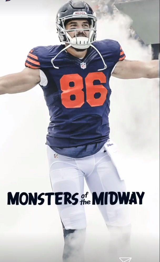 Zach Miller Mike Ditka Chicago Bears Fantasy Football