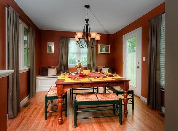 Best Colors for a Positive Mood Interior | Room colors, Dining room ...