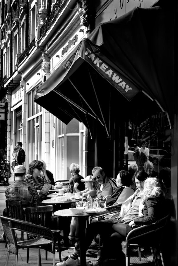 The Russian Tea Room. Primrose Hill, London