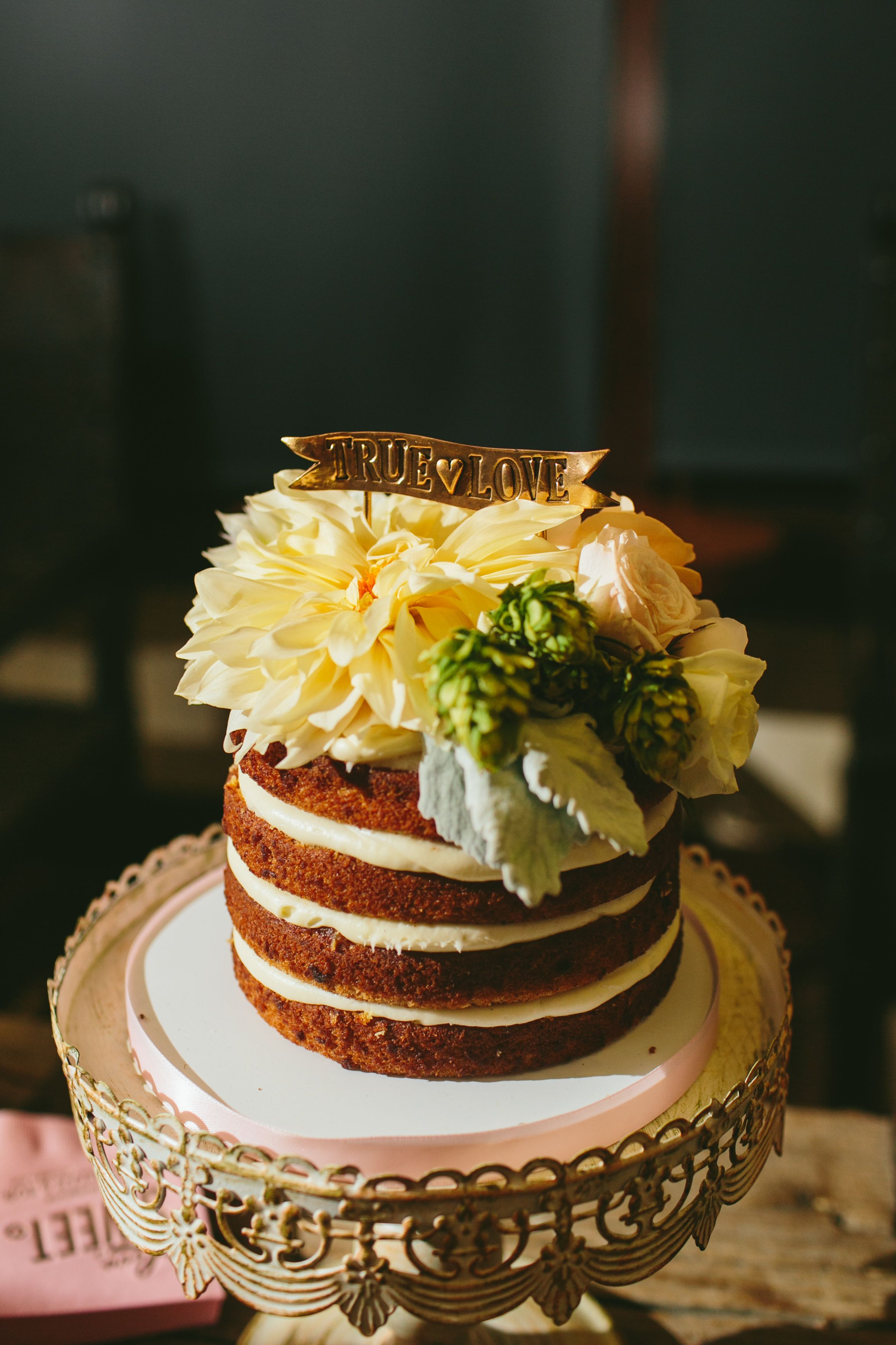 Amazing cake from Danielle and Rob\'s wedding! | by Sweet Lydia\'s ...