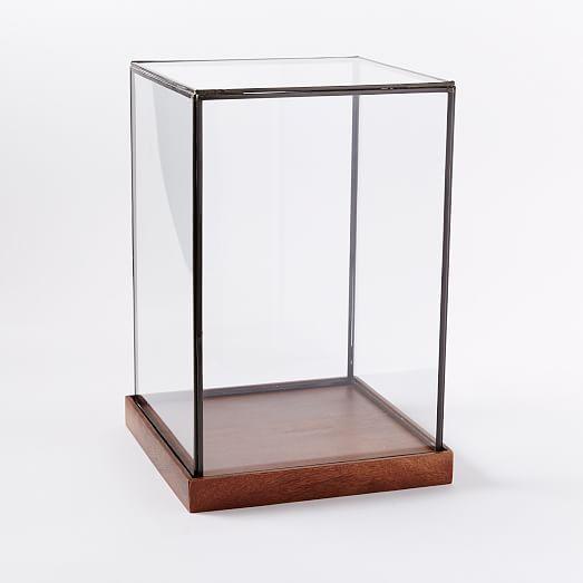 Wood Gl Display Cases Decor Ideas