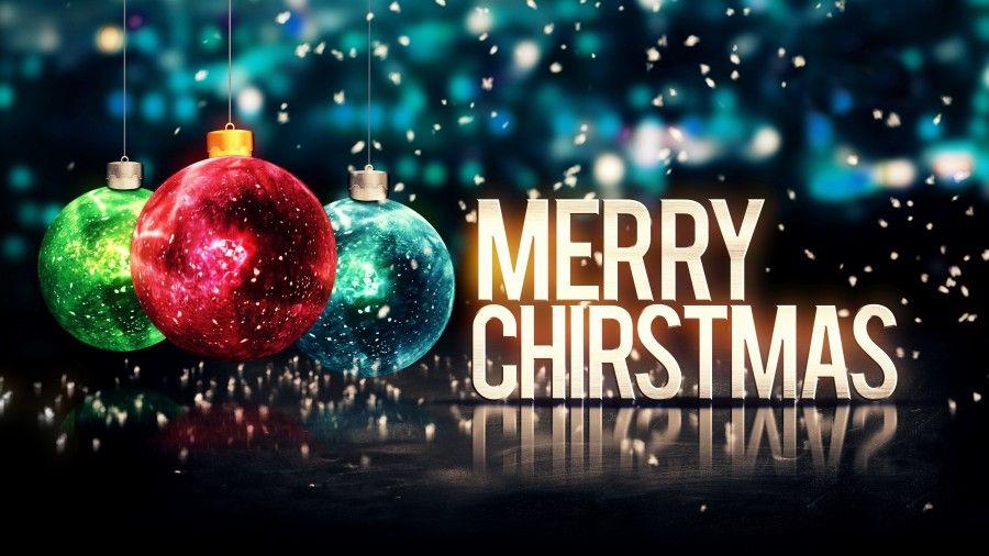 Merry Christmas Balls Glitter 4k Ultra Hd Desktop Wallpaper Happy New Year Wallpaper Happy New Year Images New Year Wallpaper