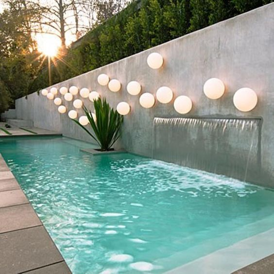 Pool modern  modern pool. love this. https://www.amazon.co.uk/Kingseye-Anti-Fog ...