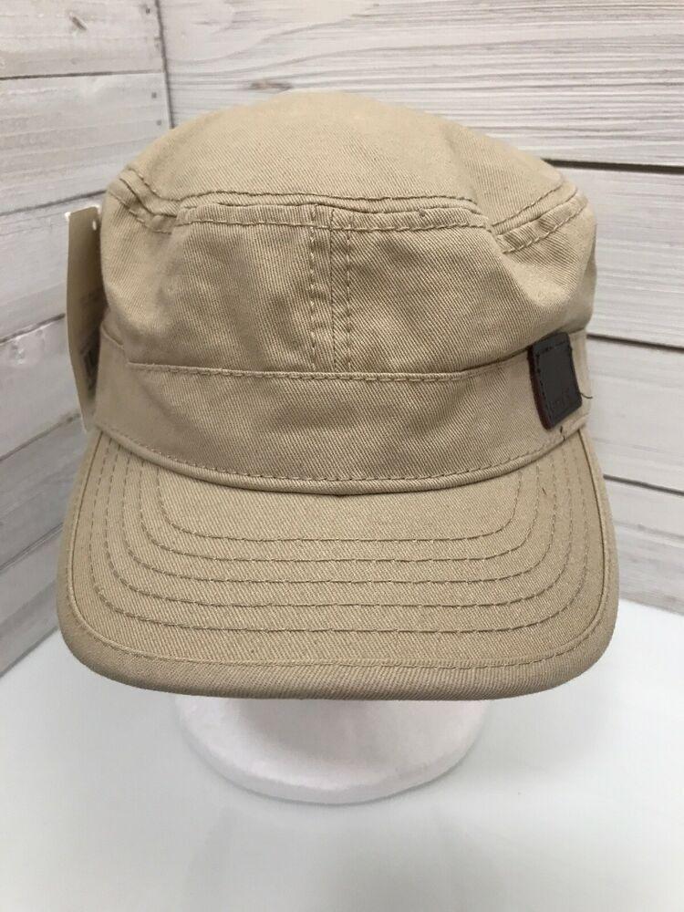 Levis Tan Brown Khaki Strap Back Hat Adult 5 Panel Adjustable Cap NEW   Levis   91e580b65fec