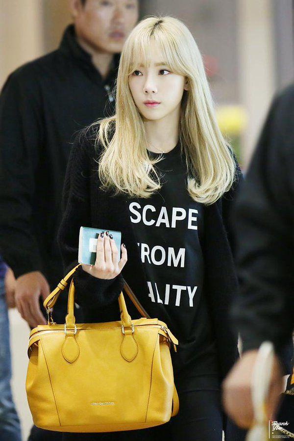 Taeyeon-ICN airport