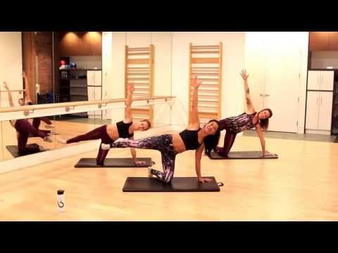 Barre Fitness | Butt Lifting Lower Body Workout - YouTube