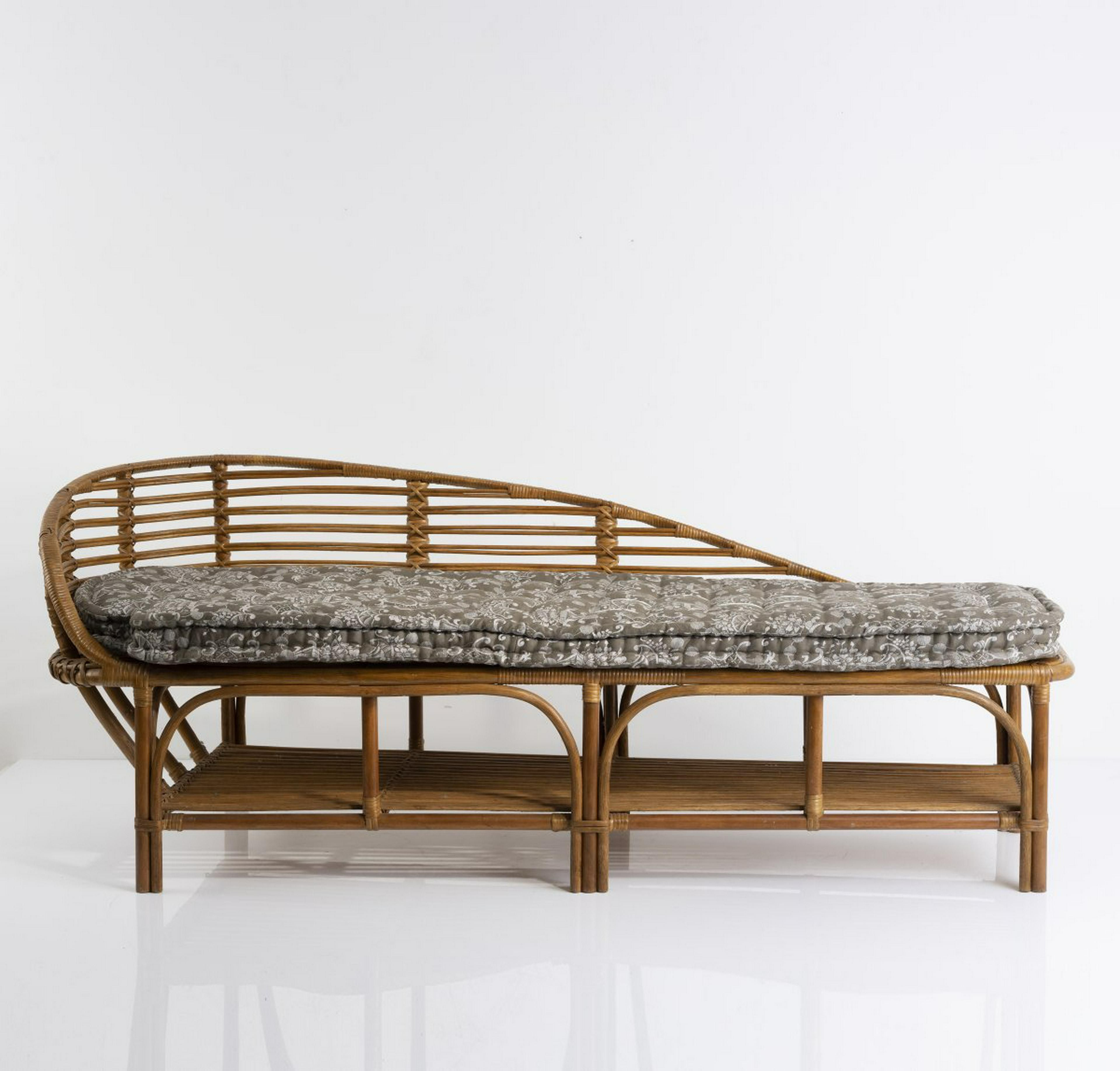 Italy Recamiere C 1955 Lot 203 Dining Bench Furniture