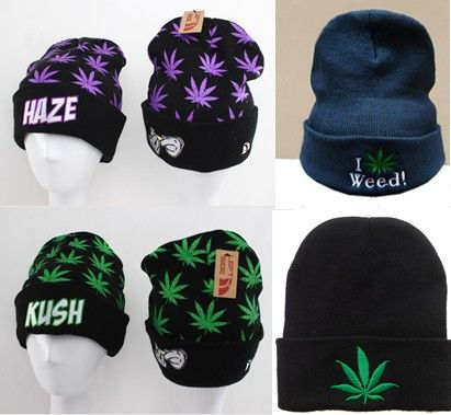 AAAwholesaler : Buy New 2014 Dgk weed beanies knitted  Letter Beanies winter hat hiphop elastic knitted hat cap cold cap snow cap Sport  Ha...