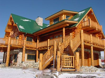 Superbe Colorado Turnkey Construction, Greatland Log Homes