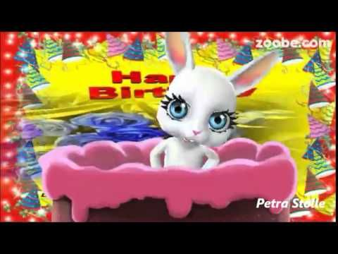 Happy Birthday Viel Gluck Geburtstag Zoobe Animation