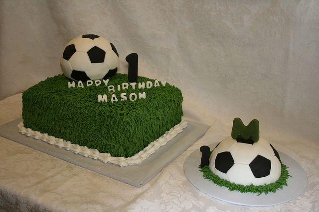 First Birthday Soccer Theme Soccer Birthday Parties 1st Boy Birthday Soccer Birthday