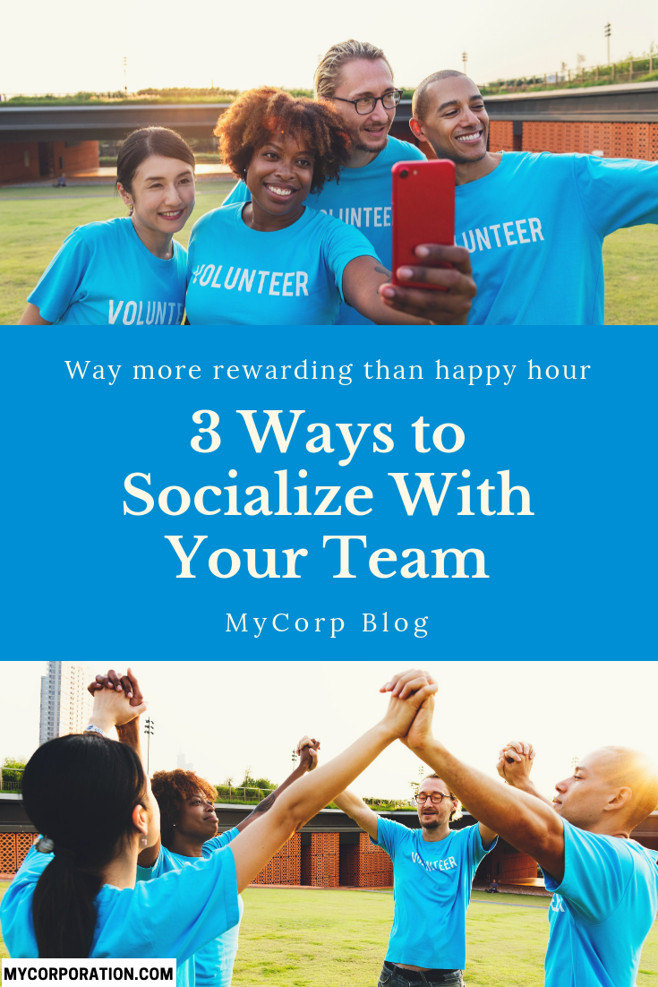 3 Ways to Socialize With Your Team That are More Rewarding
