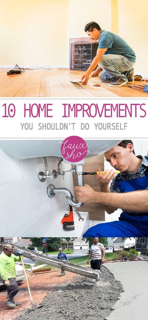 10 home improvement projects with