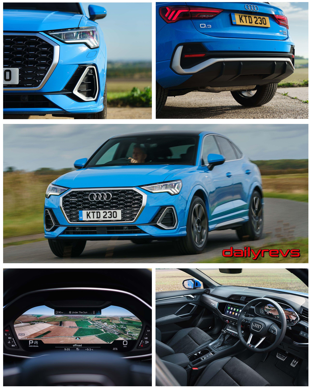 2020 Audi Q3 Sportback 45 Tfsi Uk Pictures Images Photos Wallpapers Audi Q3 Audi Compact Suv