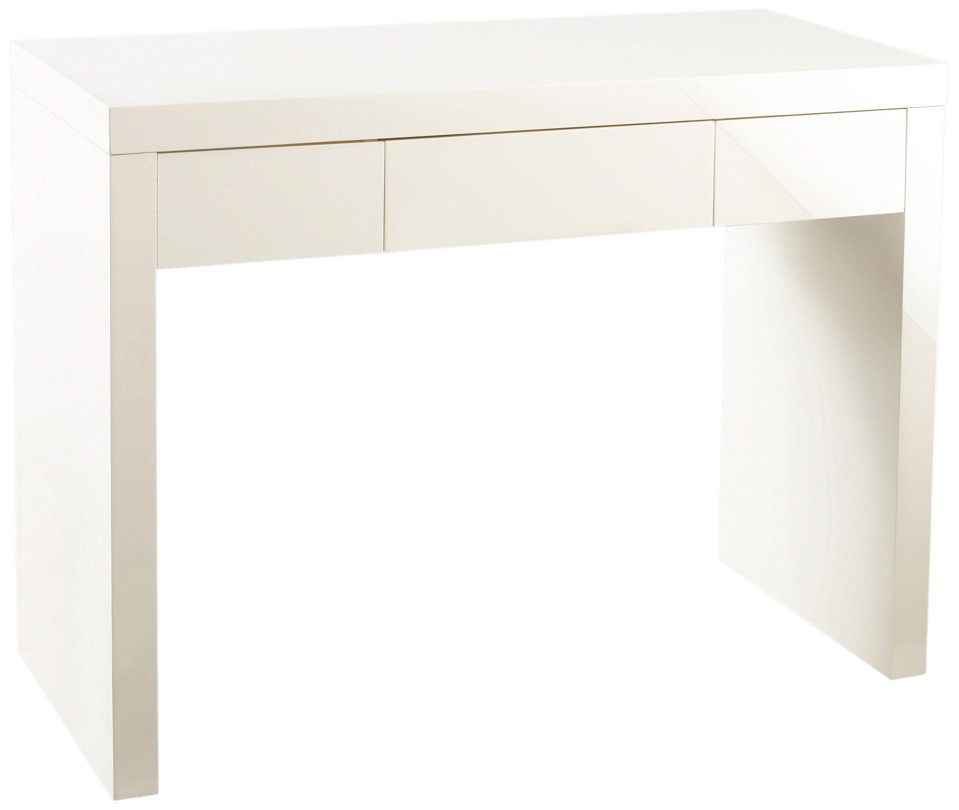 liquidation à chaud magasins d'usine acheter populaire Puro Coiffeuse/bureau 1 tiroir Crème   Home   Bureau, Tiroir ...