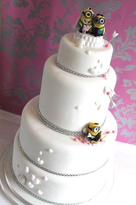 Minions Hochzeitstorte Kuchen Und Torten Pinterest Wedding