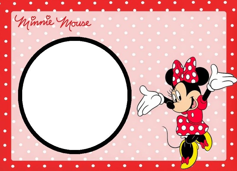 Minnie Mouse Free Template Free birthday party decorations - free birthday templates