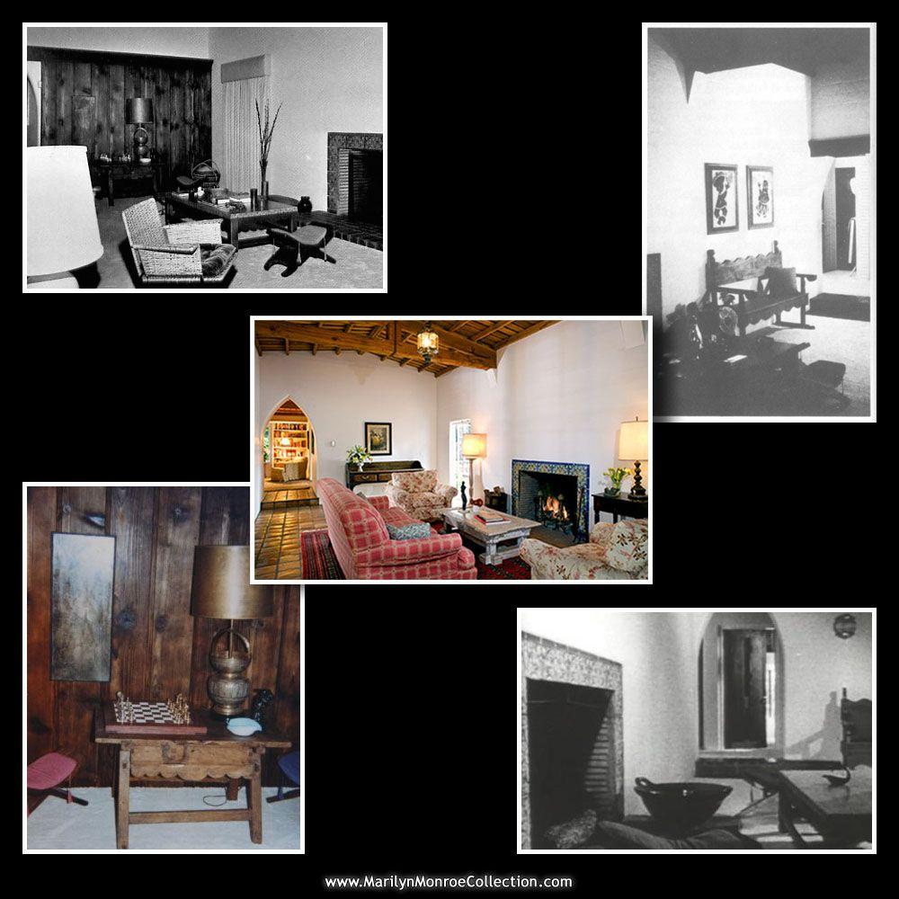 Marilyn Monroe S House Inside Merilin