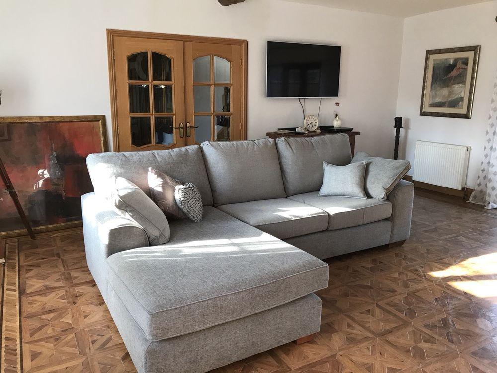Astonishing M S Nantucket Left Hand Corner Sofa In Navora Texture Grey Pdpeps Interior Chair Design Pdpepsorg