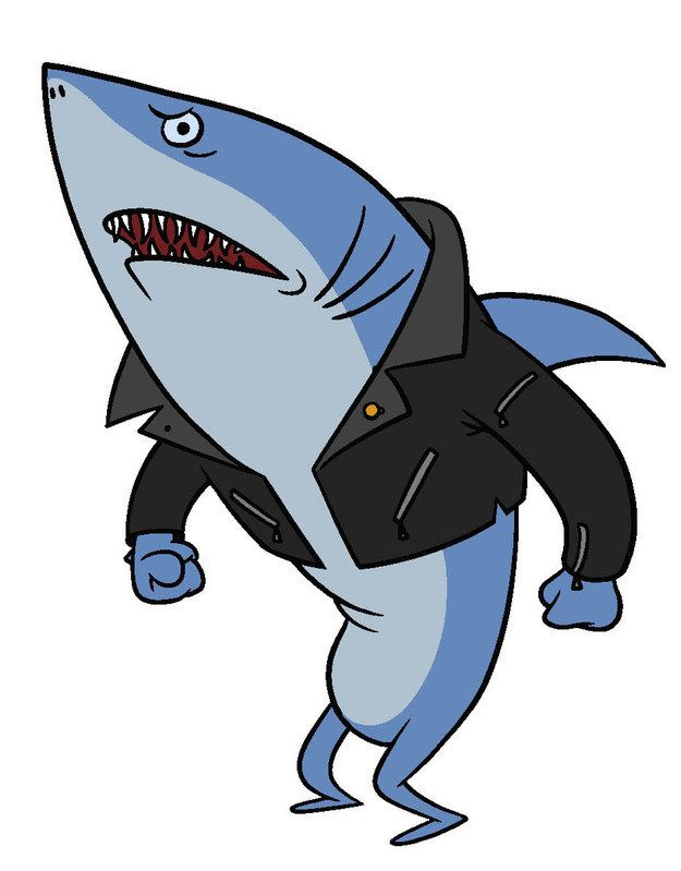 """David Lander will voice Donnie, the well-off and """"bookish"""" shark in the gang."""