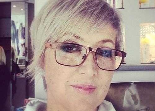 Schicke Kurze Frisuren Für ältere Frauen Pinterest Frisuren Für