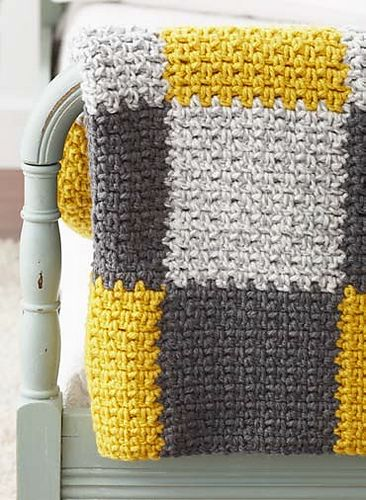 Ravelry: Patchwork Blanket pattern by Bernat Design Studio ...