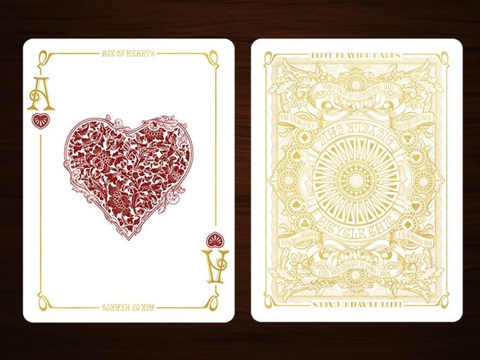 Chic Bicycle® Playing Cards Deck by Elite Playing Cards