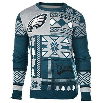 #Christmas More Information NFL Philadelphia Eagles Patches Ugly Sweater, Green, Large for Christmas Gifts Idea Store . On the web searching for good Christmas   items can be a quite informative experience, with a wide range of besides personalised items and also one of a kind items. The best online shopping sites besi...