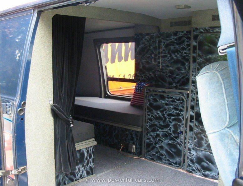 Chevy G20 | Camper Van | Custom van interior, Chevy van, Chevy