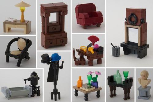 Leiden - In Den Vergulden Turk: A LEGO® creation by Patrick Bosman : MOCpages.com