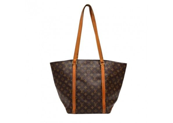 Louis Vuitton Sac Shopping Monogram Canvas Shoulder Tote Bag