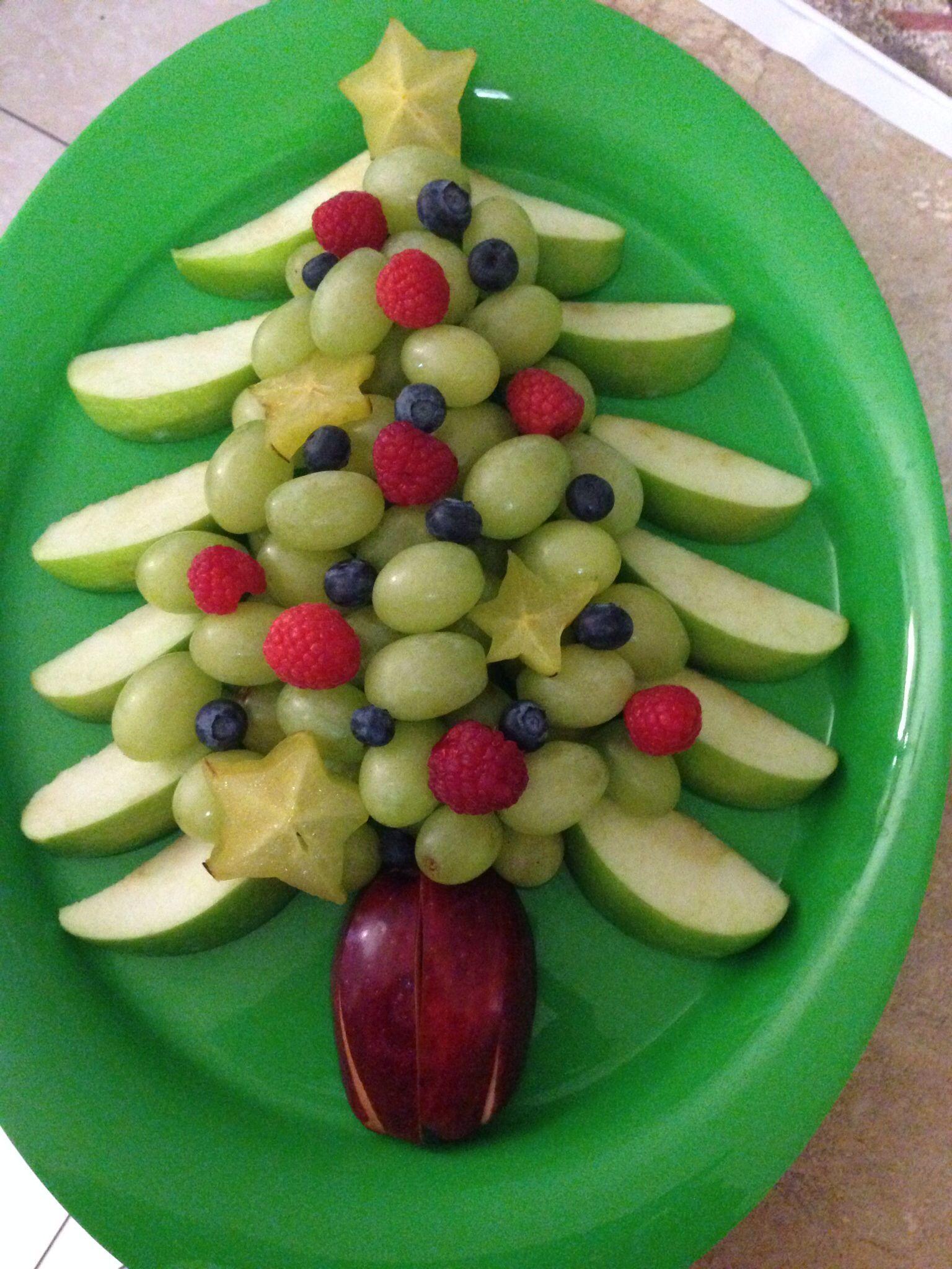 Christmas Tree Fruit Platter.Christmas Tree Fruit Platter Thing S I Have Made Fruit