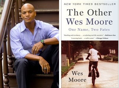 The Other Wes Moore  Read the entire book in less than 24 hours