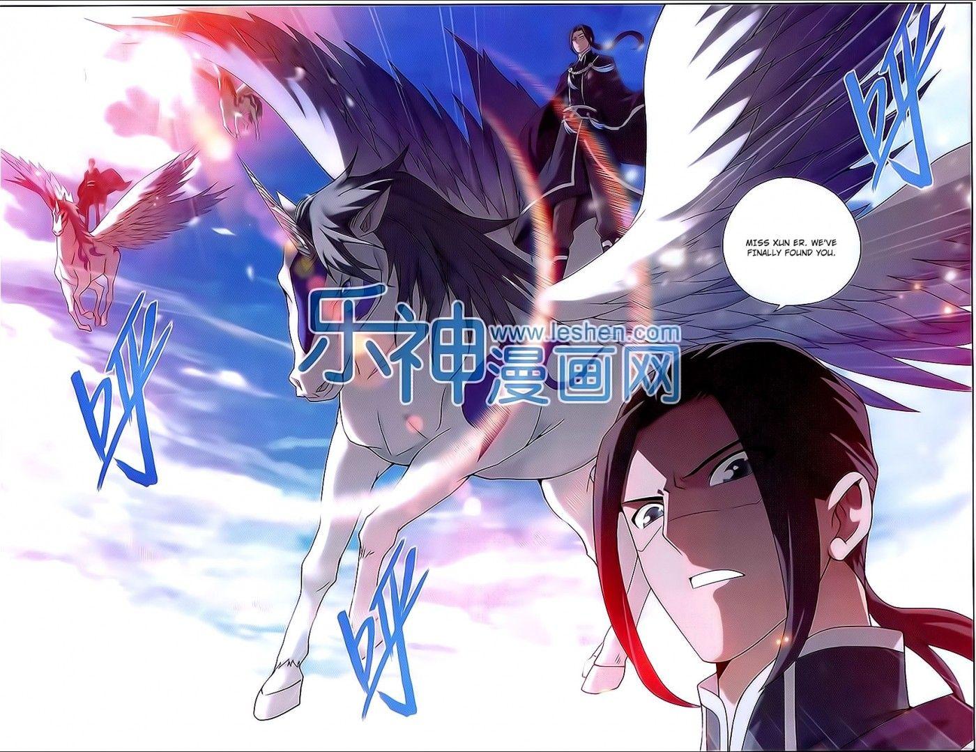 Read manga Battle Through The Heavens 151 online in high