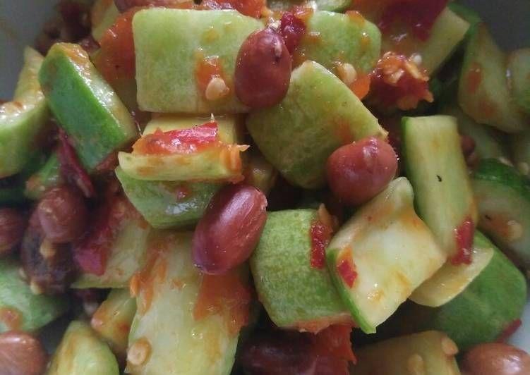 Resep Sambal Timun Terasi Oleh Ibu Nonke Resep Resep Makanan Makanan Resep