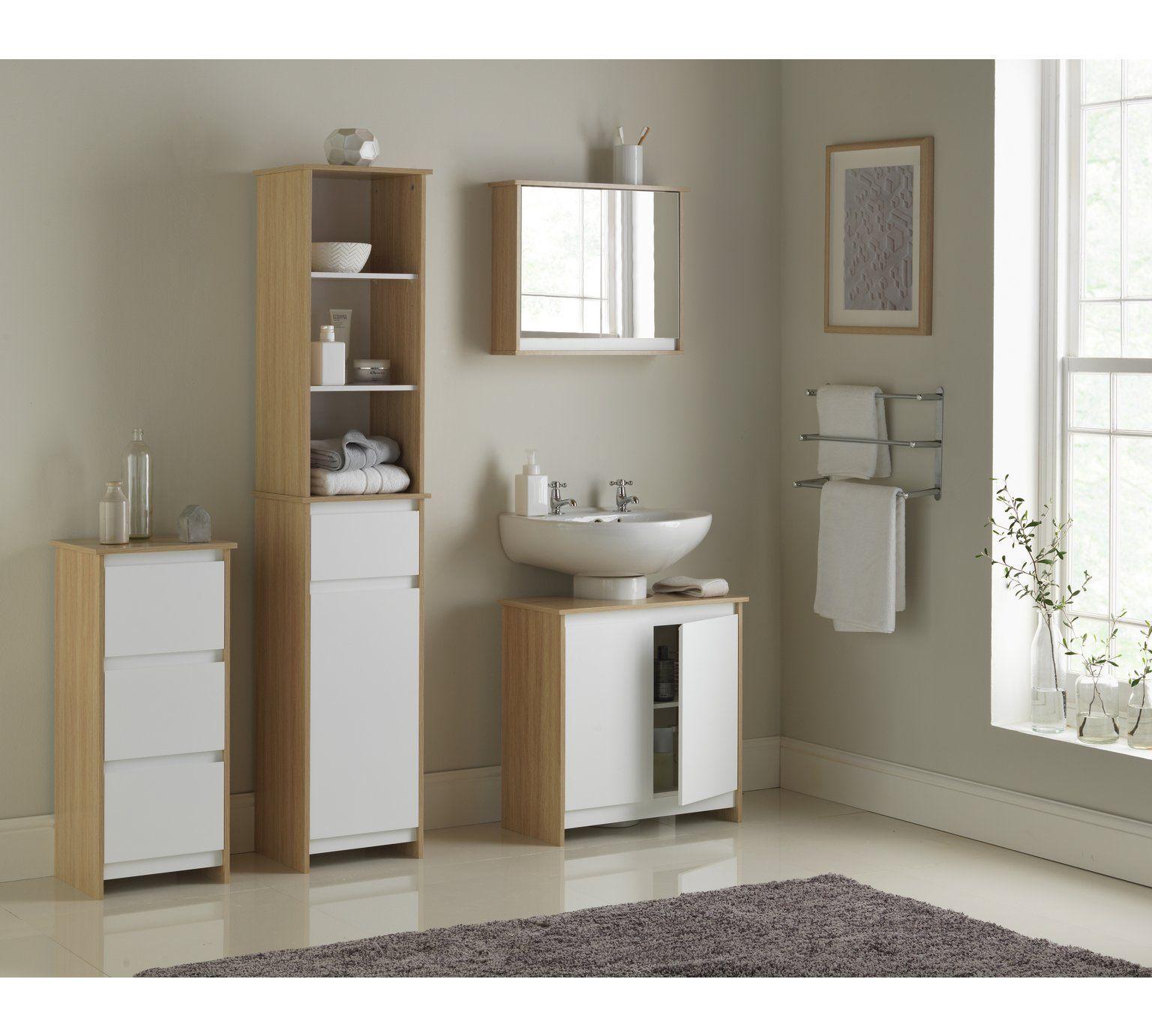 23+ Bathroom cabinets with mirror argos best