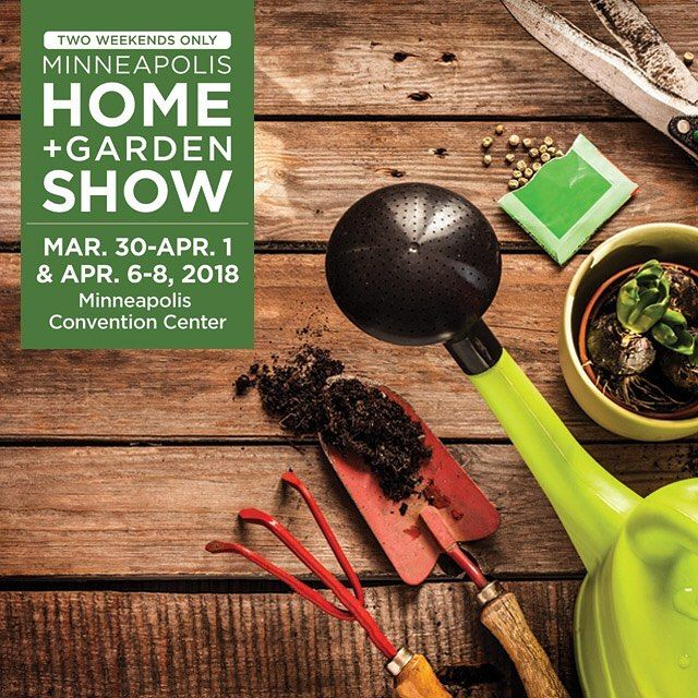 Its Official: Were One Month Away From The #Minneapolis Home Garden Show!  March 30 April 1 April 6 8 Will See The Minneapolis Convention Center Full Of  Home ...
