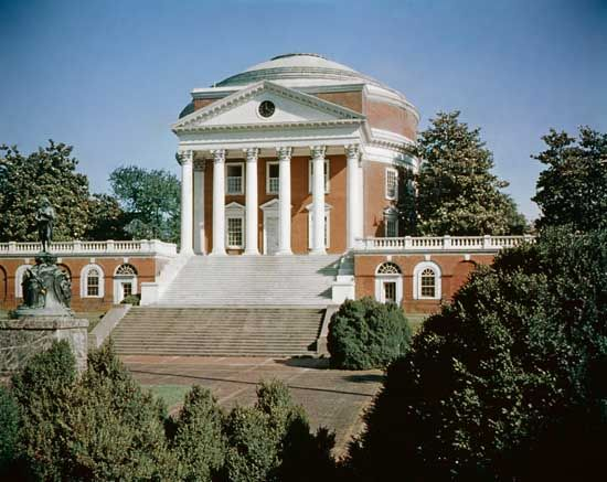 Rotunda at University of Virginia Charlottesville, Virginia 1819-1826