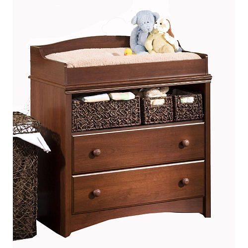 South Shore Sweet Morning Changing Table   Royal Cherry