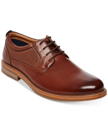 db853245461 Steve Madden Men's Oakes Plain-Toe Oxfords - Brown 10.5 | Products ...