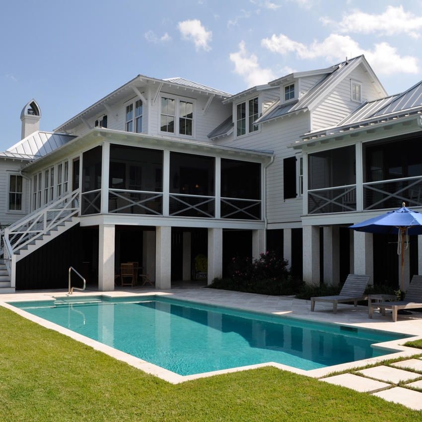Pin By Ami Wood On Next Home Coastal Homes House Styles Architect