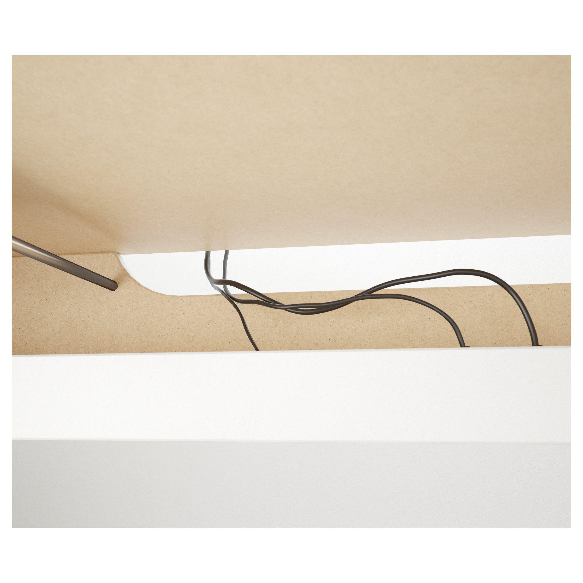 Signum Cable Management Horizontal Silver Color 27 Cable Management Cable Management Desk Ikea