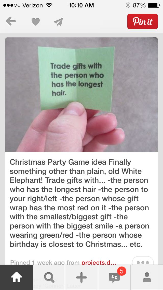 Gift swap ideas for christmas