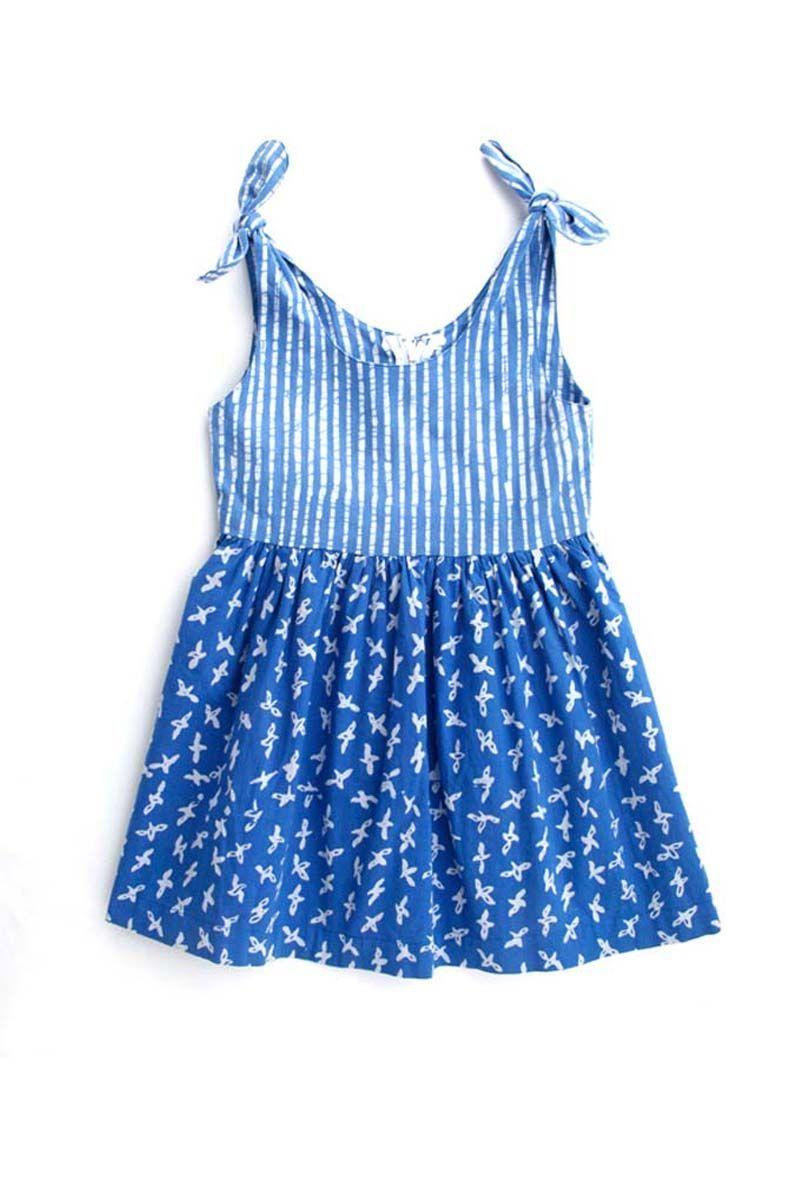 Brandsfever ribbon dual batik dress girl y batik