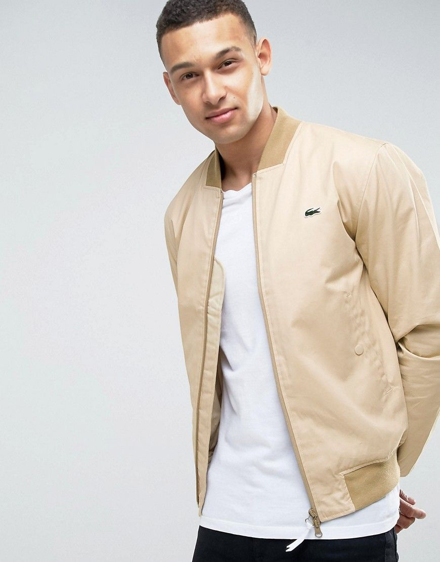 cff3d24b81 Get this Lacoste Live's bomber jacket now! Click for more details ...