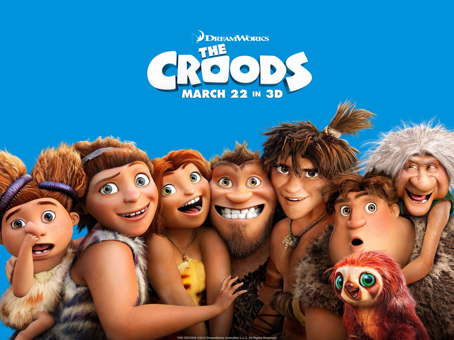 Watch Streaming HD The Croods, starring Nicolas Cage, Ryan