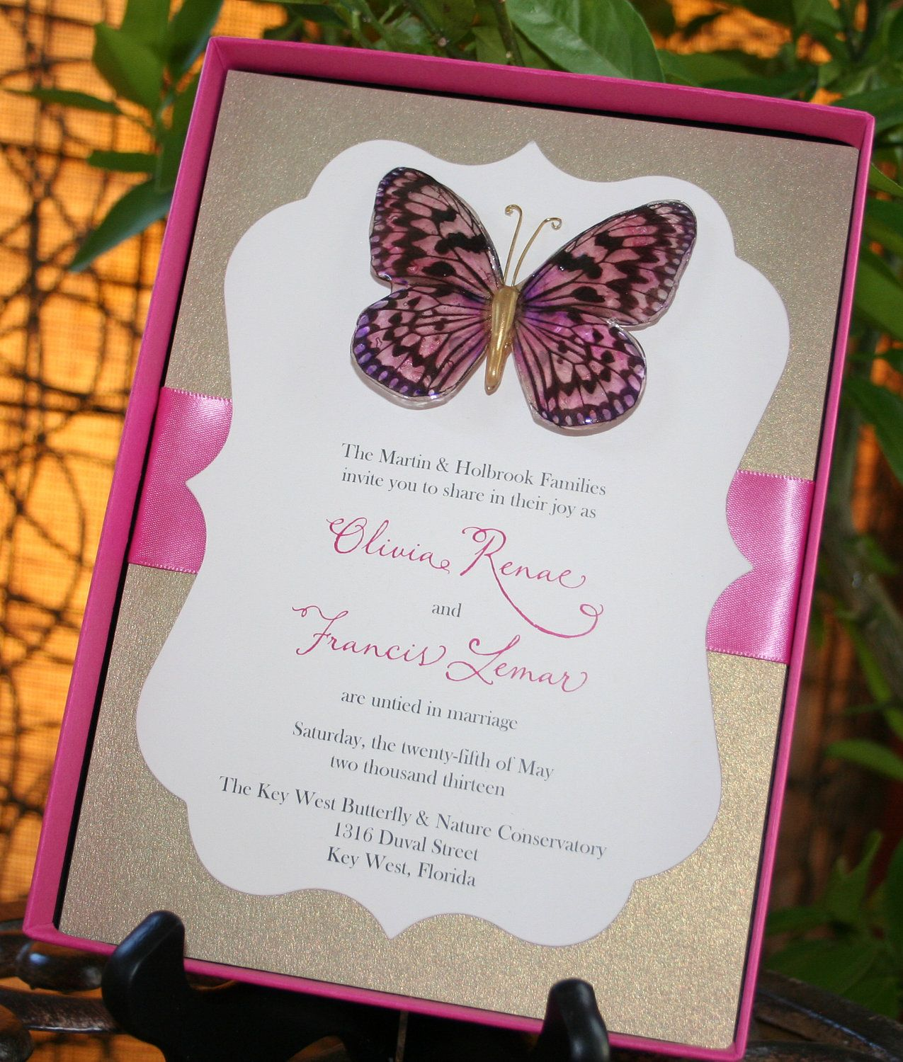Love the design - box, ribbon, shaped card layered w/different ...