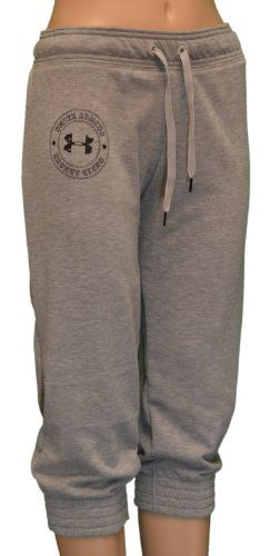 46671ddda314 Under Armour Women s Loose Fit Capri Pants Sweatpants-Heather « Clothing  Impulse