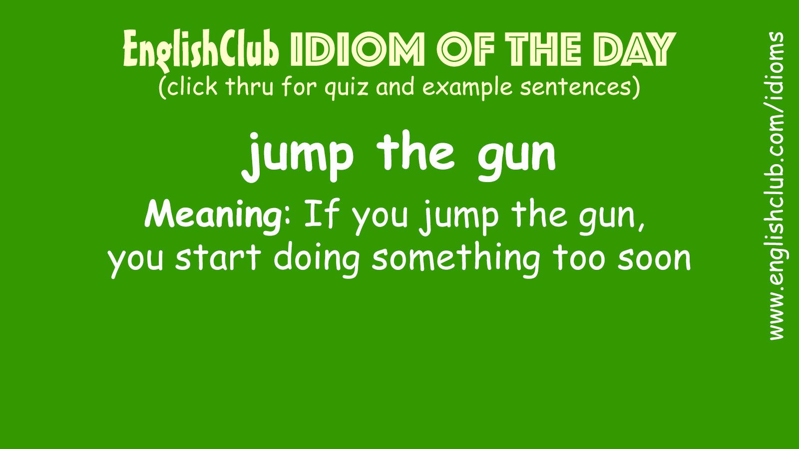 Pin By Ali Yousif On Idiom Of The Day