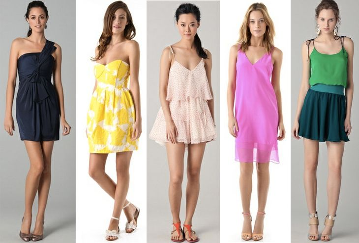 five flirty dresses!